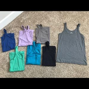 Banana Republic basic tanks, Set of 7, all XL